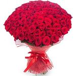 Букеты из 101 розы - flowers and bouquets on roza.pl.ua