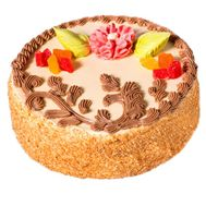 Sponge cake - flowers and bouquets on roza.pl.ua