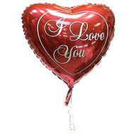 Фольгована кулька у формі серця - цветы и букеты на roza.pl.ua