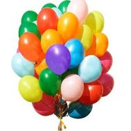 Huge bundle of balloons - flowers and bouquets on roza.pl.ua