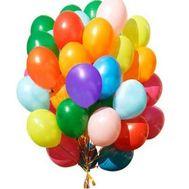 Огромная связка воздушных шаров - цветы и букеты на roza.pl.ua