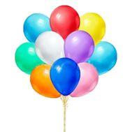 Разноцветные воздушные шары - цветы и букеты на roza.pl.ua