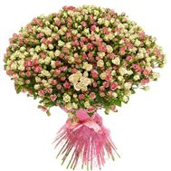 101 cluster rose - flowers and bouquets on roza.pl.ua