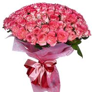 101 roses - flowers and bouquets on roza.pl.ua
