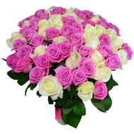 101 roses in a bouquet - flowers and bouquets on roza.pl.ua