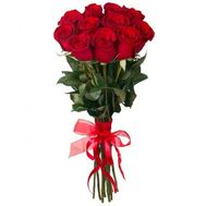 11 red roses - flowers and bouquets on roza.pl.ua
