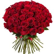 51 red imported rose - flowers and bouquets on roza.pl.ua