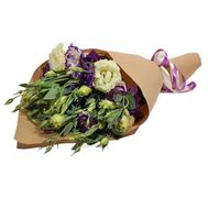 Bouquet from eustom in paper - flowers and bouquets on roza.pl.ua