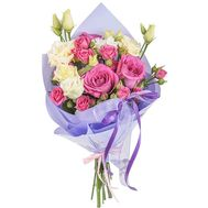 Bouquet of delicate flowers - flowers and bouquets on roza.pl.ua