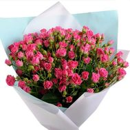 Bouquet of bush roses for a girl - flowers and bouquets on roza.pl.ua