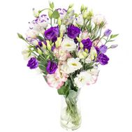 Bouquet of lisianthus - flowers and bouquets on roza.pl.ua