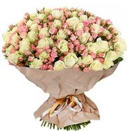 Elite bouquet of roses - flowers and bouquets on roza.pl.ua