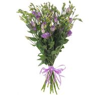 Eustoma in the bouquet - flowers and bouquets on roza.pl.ua