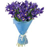 Гарний букет ірисів - цветы и букеты на roza.pl.ua