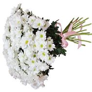 Bouquet of 21 daisies - flowers and bouquets on roza.pl.ua