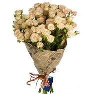 Shrub Roses in Paper - flowers and bouquets on roza.pl.ua