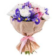 Милый букетик цветов - цветы и букеты на roza.pl.ua