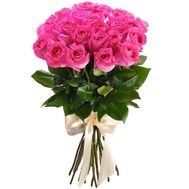 Delicate bouquet of imported roses - flowers and bouquets on roza.pl.ua