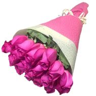 Pink imported roses - flowers and bouquets on roza.pl.ua