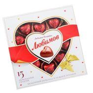 Конфеты Любимов Шоколадные сердечки - цветы и букеты на roza.pl.ua