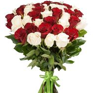 Magnificent bouquet of imported roses - flowers and bouquets on roza.pl.ua