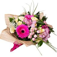 Beautiful bouquet of flowers - flowers and bouquets on roza.pl.ua