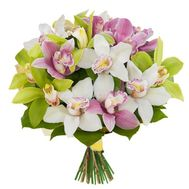 Bouquet of orchids - flowers and bouquets on roza.pl.ua