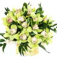 Bouquet of 13 orchids - flowers and bouquets on roza.pl.ua