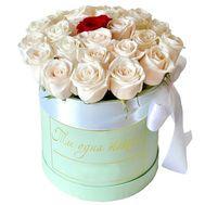 Коробка роз для любимой - цветы и букеты на roza.pl.ua