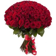 VIP bouquet of 101 roses - flowers and bouquets on roza.pl.ua