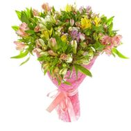 Bouquet of 25 alstromeries - flowers and bouquets on roza.pl.ua