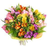 Bouquet of 15 alstromeries - flowers and bouquets on roza.pl.ua