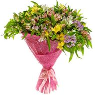 Bouquet of 41 alstroemerias - flowers and bouquets on roza.pl.ua