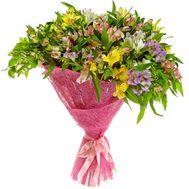 Букет из 41 альстромерии - цветы и букеты на roza.pl.ua