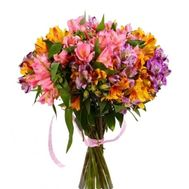 Bouquet of 27 alstromeries - flowers and bouquets on roza.pl.ua