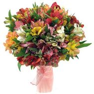 Bouquet of 51 alstroemerias - flowers and bouquets on roza.pl.ua