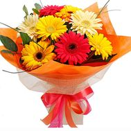 Bouquet of 9 gerberas - flowers and bouquets on roza.pl.ua