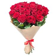 Bouquet of 23 roses - flowers and bouquets on roza.pl.ua