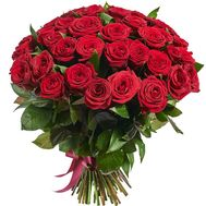 Bouquet of 75 roses - flowers and bouquets on roza.pl.ua