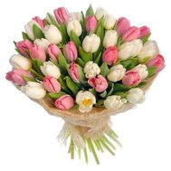 Bouquet of 31 Tulips - flowers and bouquets on roza.pl.ua
