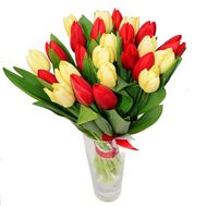Bouquet of 23 Tulips - flowers and bouquets on roza.pl.ua