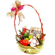 Gift basket - flowers and bouquets on roza.pl.ua