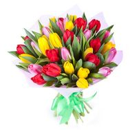 Bouquet of 45 Tulips - flowers and bouquets on roza.pl.ua