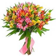 Bouquet of 21 alstroemerias - flowers and bouquets on roza.pl.ua
