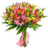 Букет из 21 альстромерии - цветы и букеты на roza.pl.ua