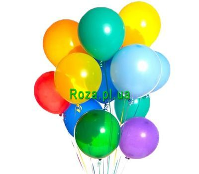 """15 balloons"" in the online flower shop roza.pl.ua"