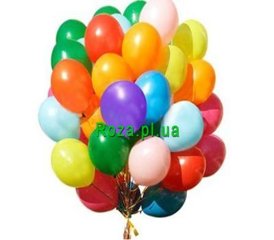 """Huge bundle of balloons"" in the online flower shop roza.pl.ua"