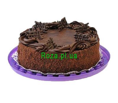 """Chocolate cake"" in the online flower shop roza.pl.ua"