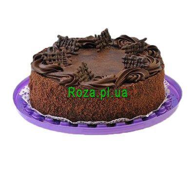 """Шоколадний торт"" в интернет-магазине цветов roza.pl.ua"