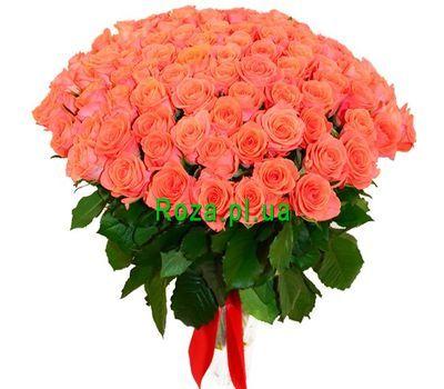 """""""101 оранжевую розу"""" в интернет-магазине цветов roza.pl.ua"""